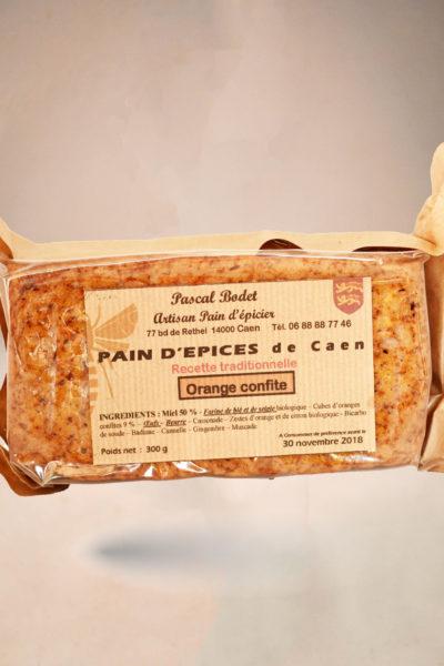 Pain d'épices de Caen à...