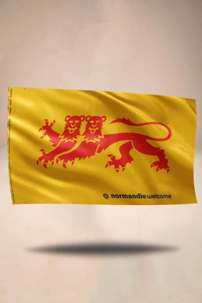 Drapeau Normandie Welcome