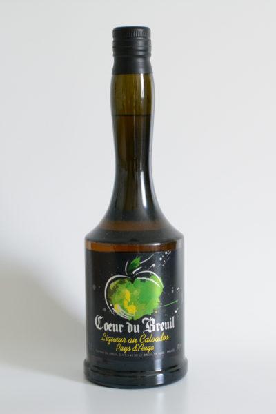 """Liqueur au Calvados """"Cœur de Breuil"""""""